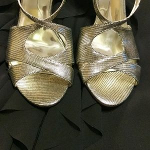 Guess by Marciano Shoes - Guess by Marciano Gold heels